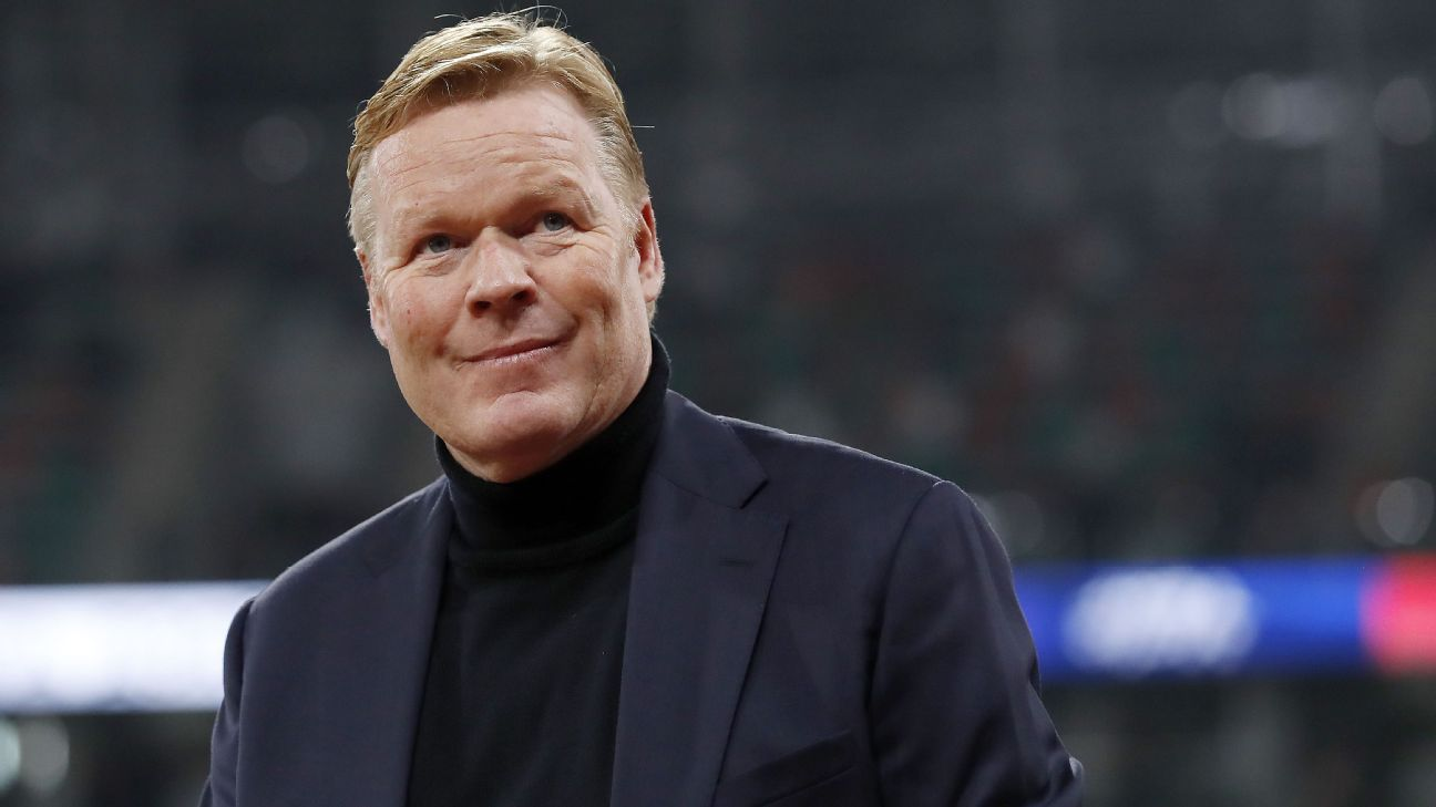 Koeman has clause allowing him to join Barcelona in Netherlands contract - KNVB