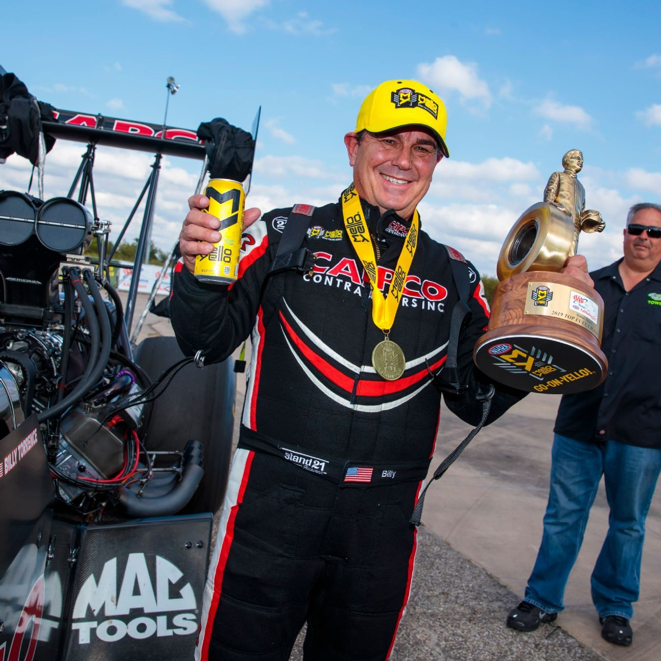 Billy Torrence wins second Top Fuel victory of playoffs