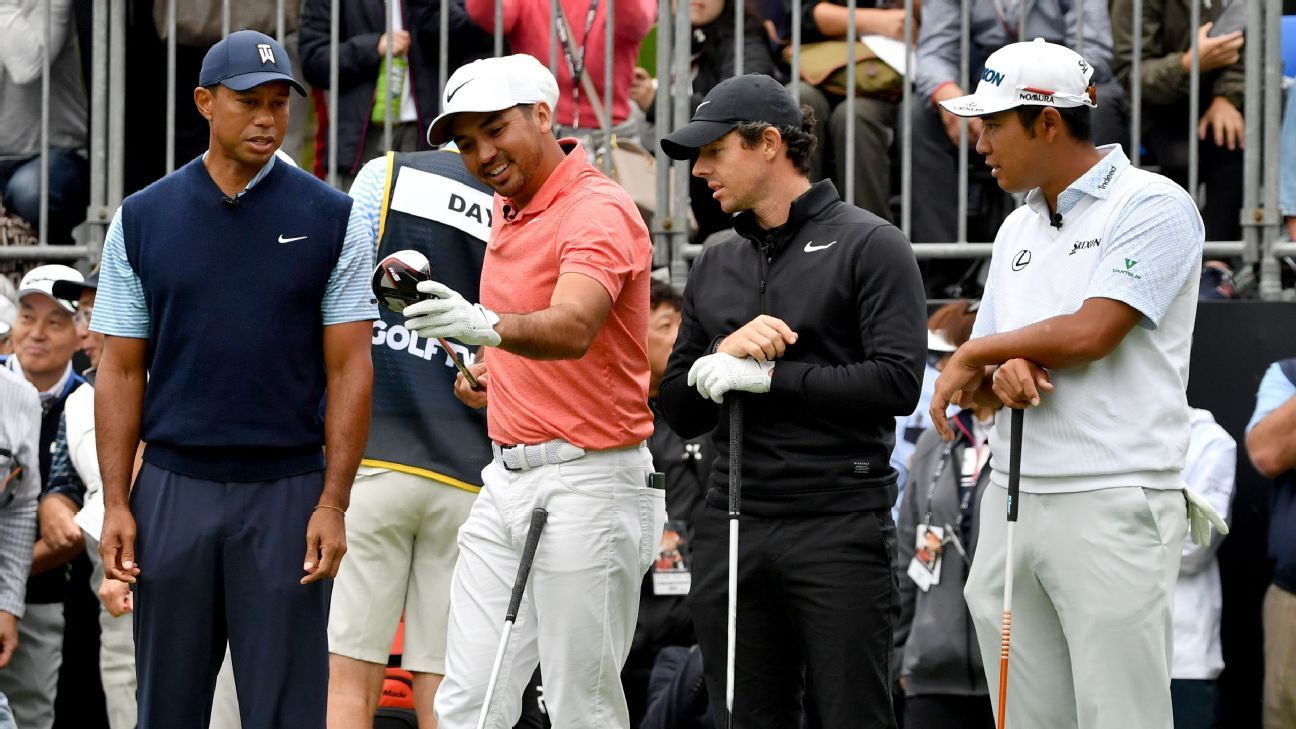 Tiger Woods finishes second to Jason Day at Japan Skins event