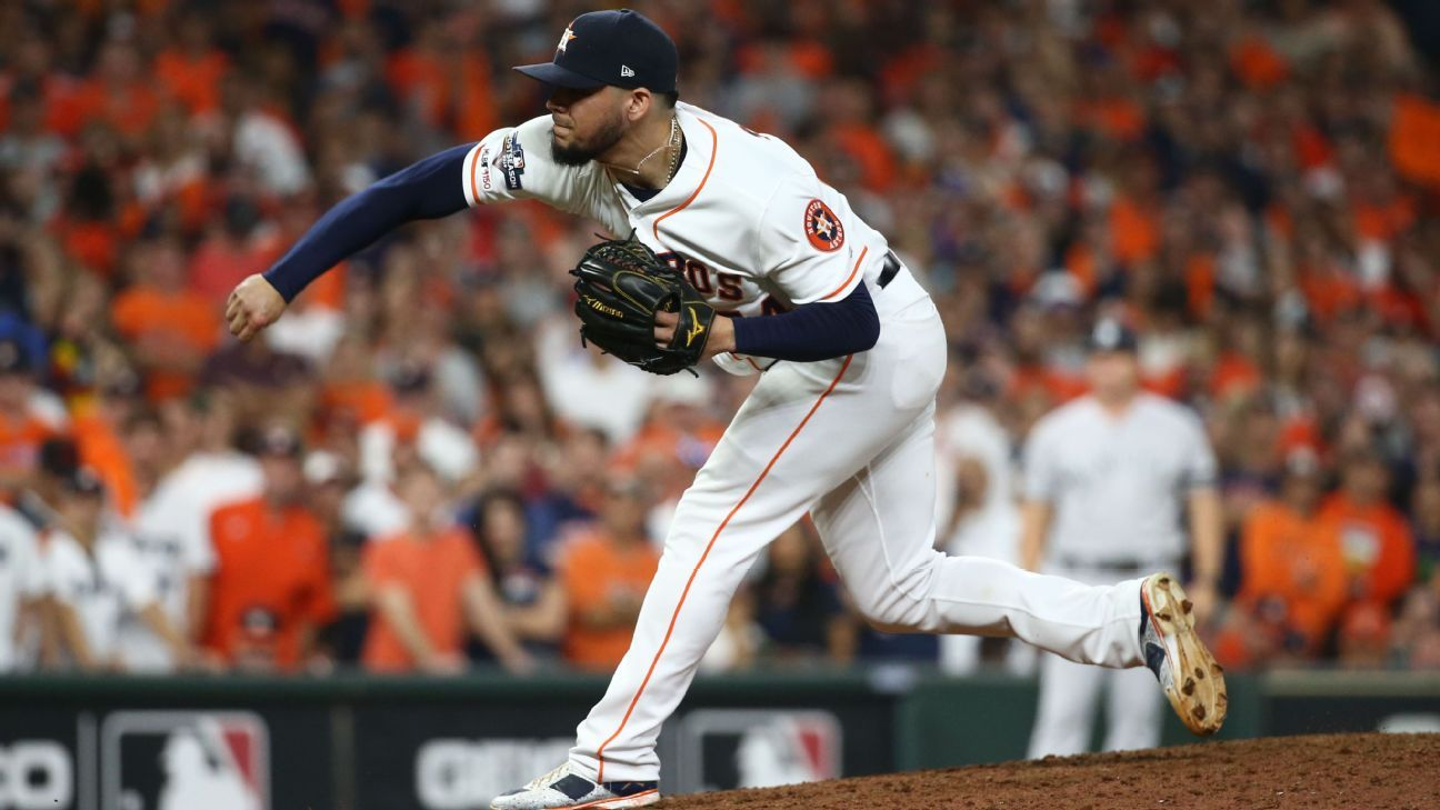 Astros deny intent of assistant GM's support of Roberto Osuna