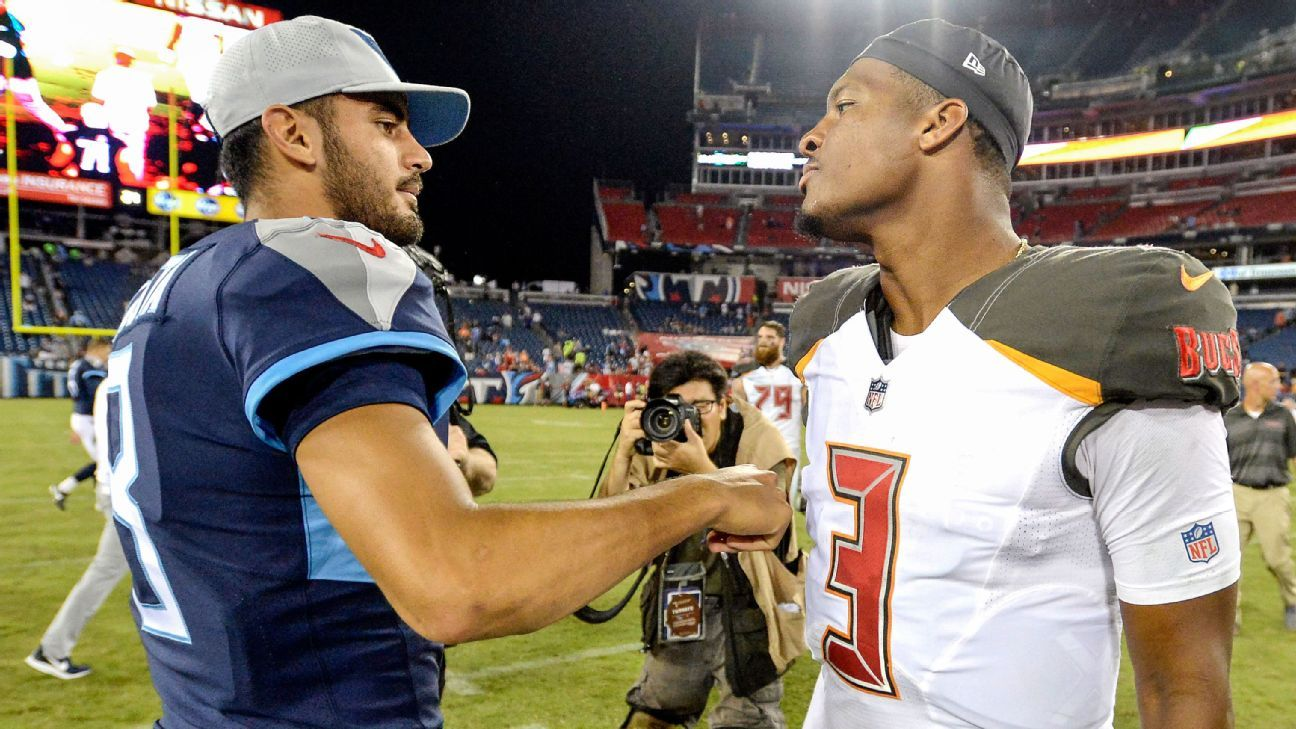 Top draft picks at a crossroads: What went wrong for Winston and Mariota