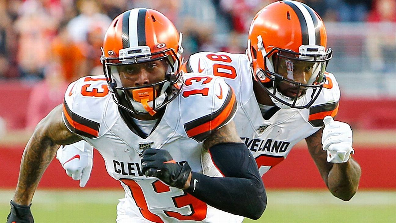 Browns' Jarvis Landry: I know Odell Beckham Jr. wants to be here