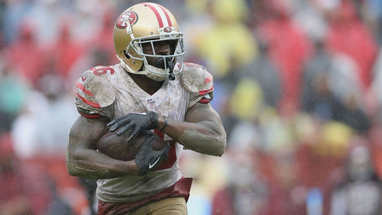 No workhorse needed: 49ers' running back stable thriving