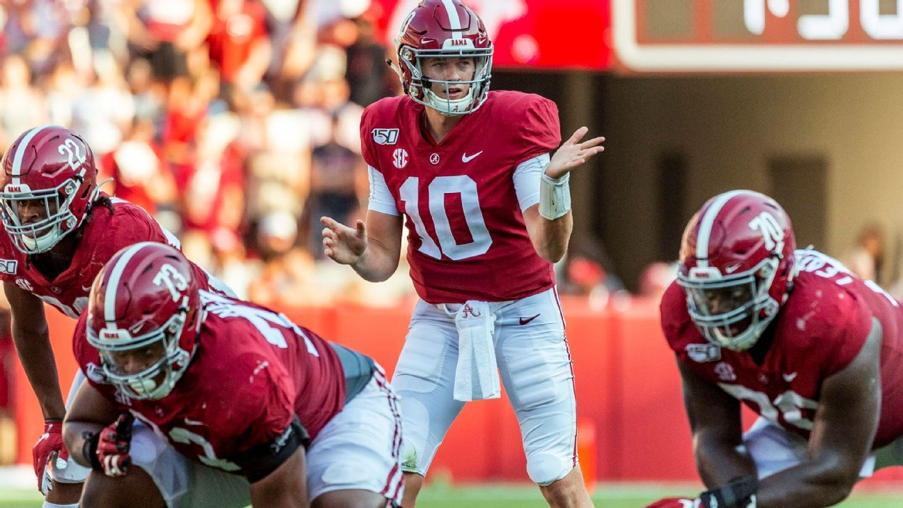 With Mac Jones starting for Alabama, he's the most important Plan B in college football