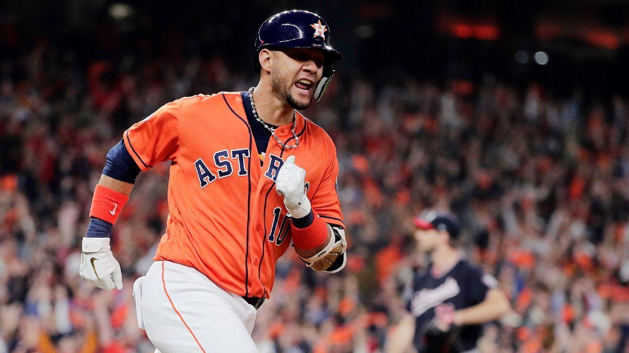 Yuli Gurriel, Houston Astros reach $8.3M, 1-year deal