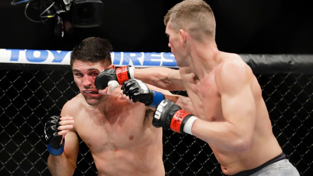 Helwani's Show: Wonderboy's injured hands, plus Masvidal and Adesanya