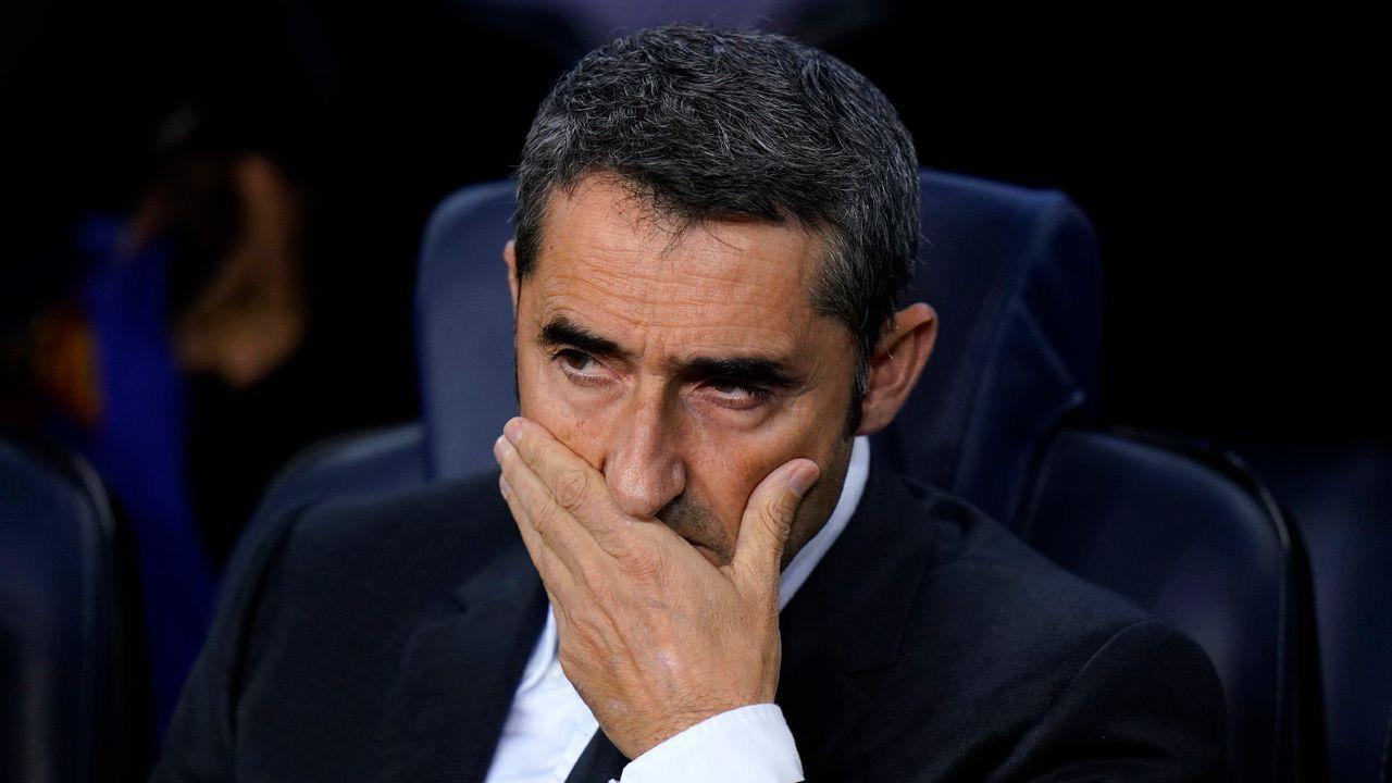 Continuidad de Valverde en el Barcelona no peligra, por ahora
