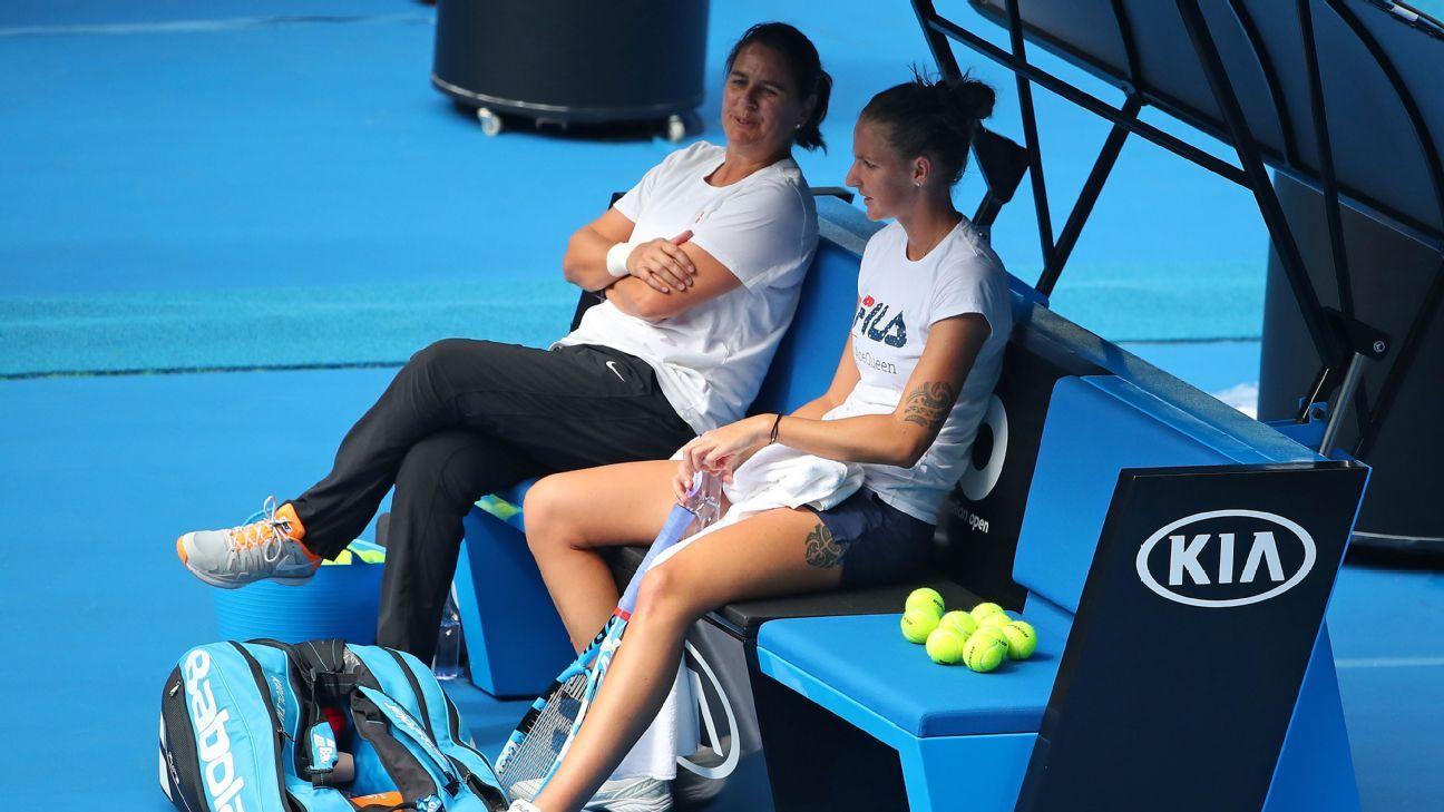 World No. 2 Karolina Pliskova announces split with coach