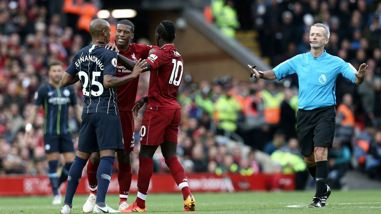Liverpool vs. Manchester City: Get ready for the Premier League's biggest game the season