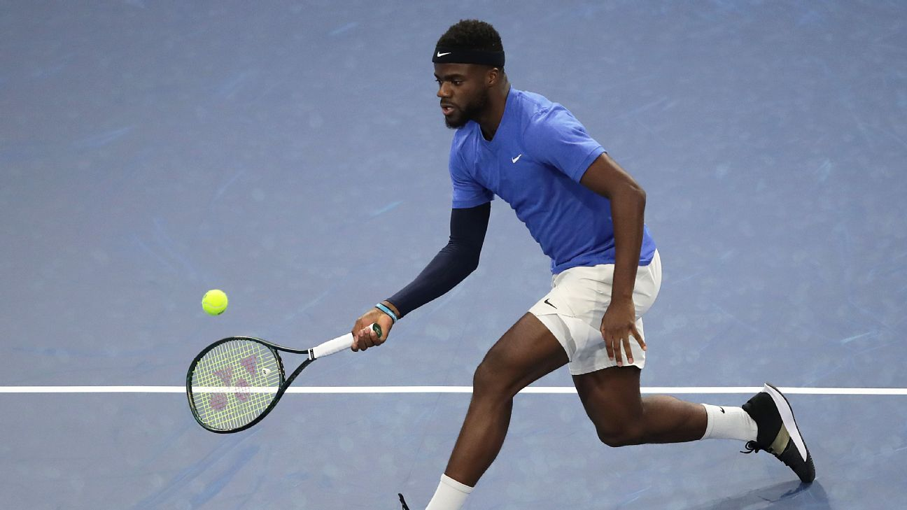 Frances Tiafoe tests positive for coronavirus, withdraws from All-American Team Cup - ESPN