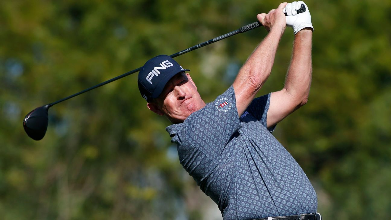 Jeff Maggert holds 1-shot lead in Charles Schwab Cup Championship