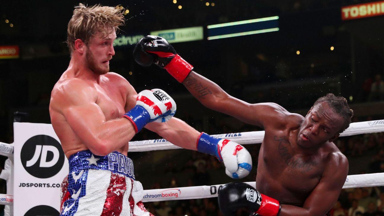 KSI tops Logan Paul by split decision in battle of YouTube stars