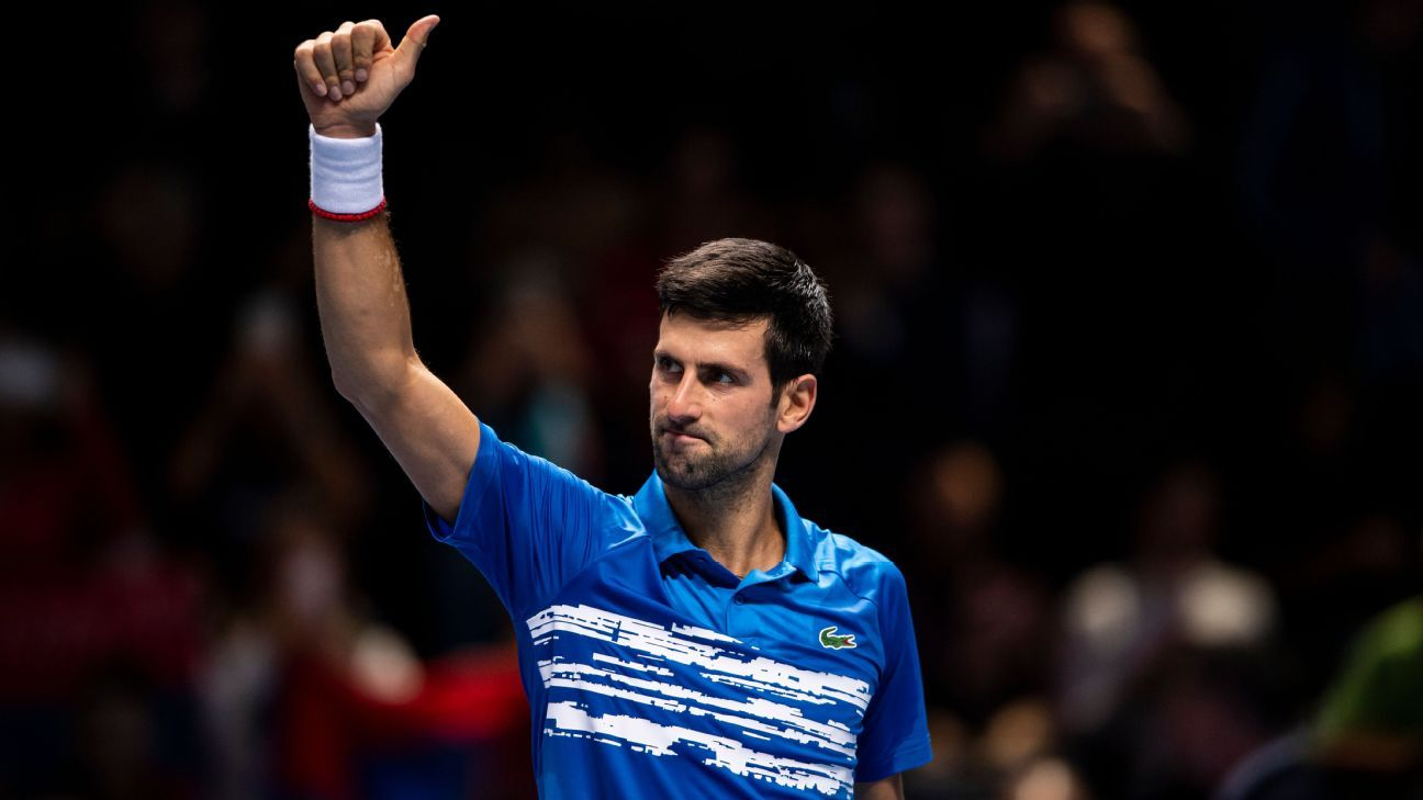 Being No. 1 isn't for everyone, but Novak Djokovic embraces the challenge