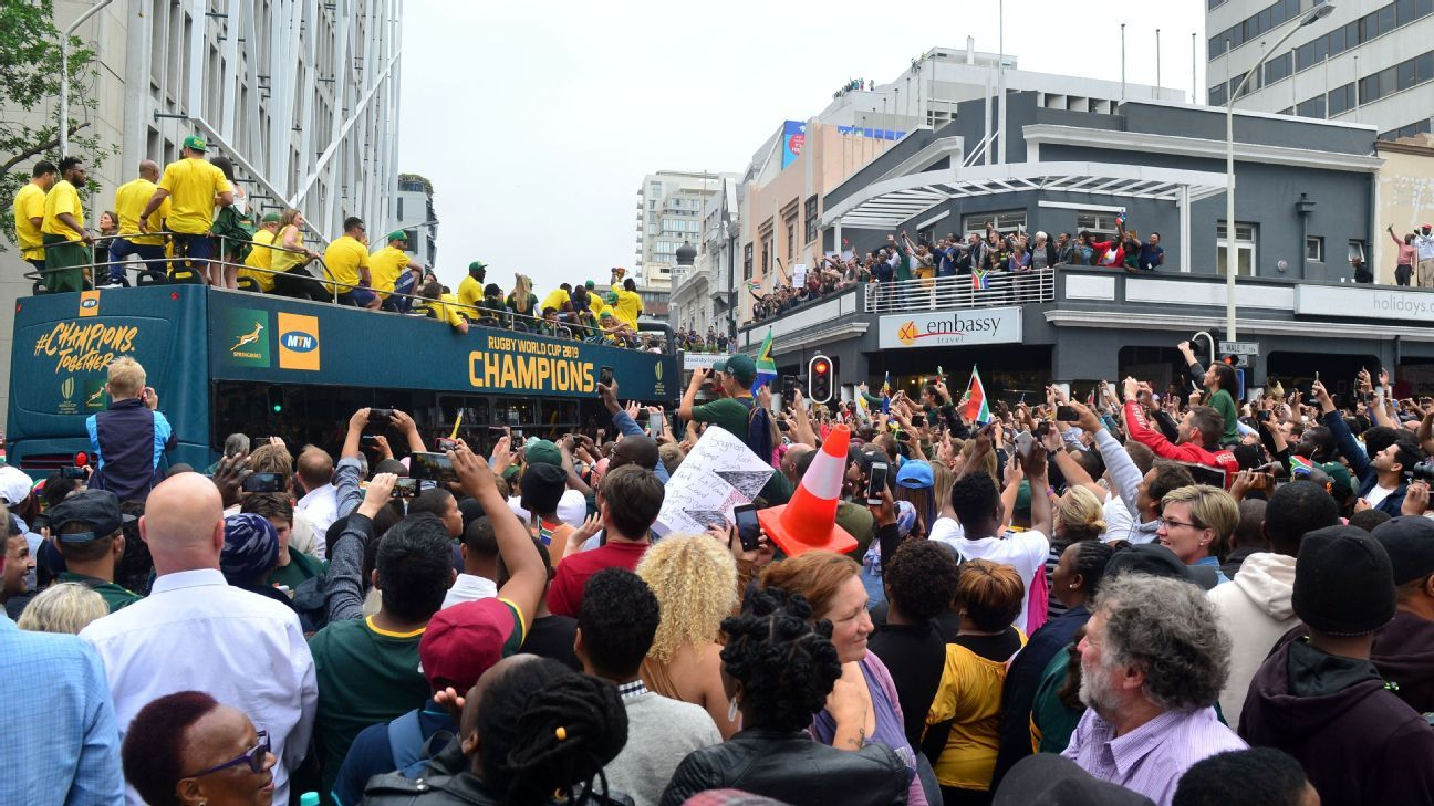Springboks' Siya Kolisi thanks South Africa for 'unbelievable support' on Rugby World Cup Champions Tour