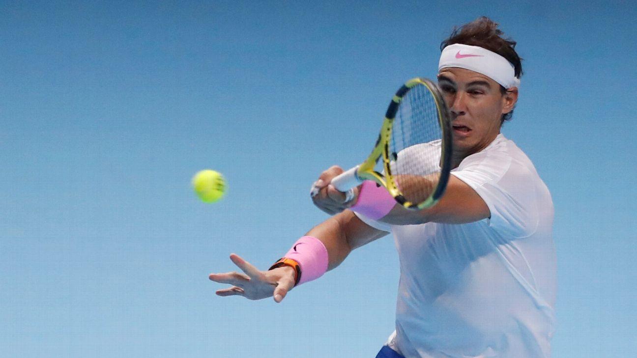 Rafael Nadal wins, needs help in ATP Finals round-robin