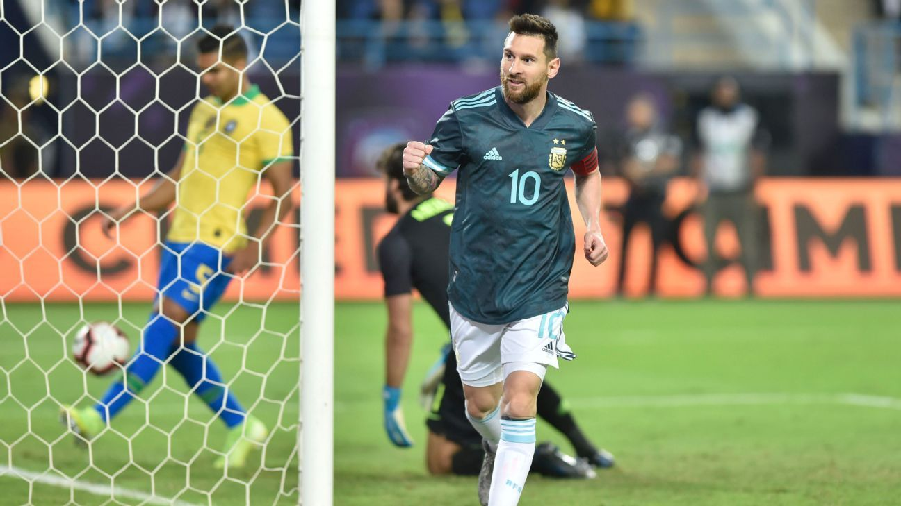 Messi goal pushes Argentina past Brazil in Riyadh friendly