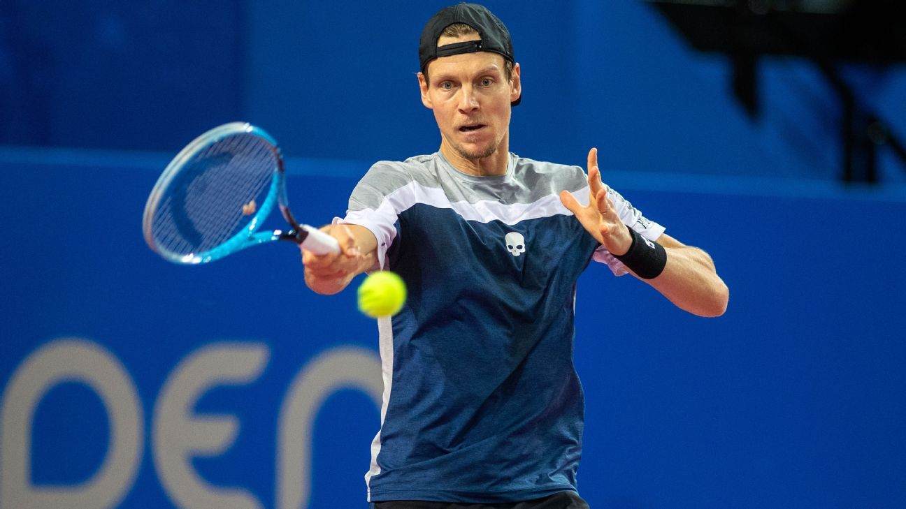 Former world No. 4 Tomas Berdych announces retirement at ATP Finals - ESPN