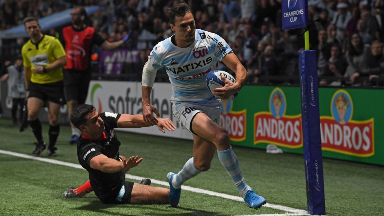 Saracens begin European title defence with heavy loss at Racing 92