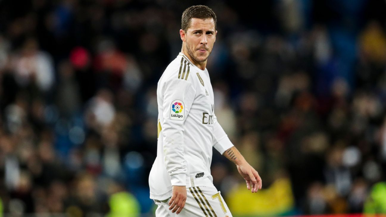 Eden Hazard set for Real Madrid return after long spell on sidelines - ESPN