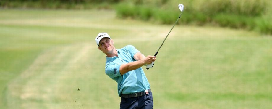 Calum Hill cards 64 to take Mauritius Open lead