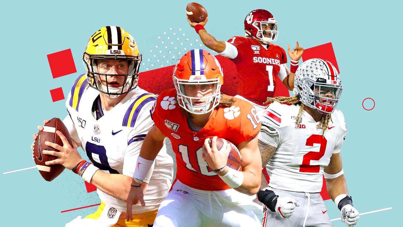 College Football Playoff - How LSU, Ohio State, Clemson ...