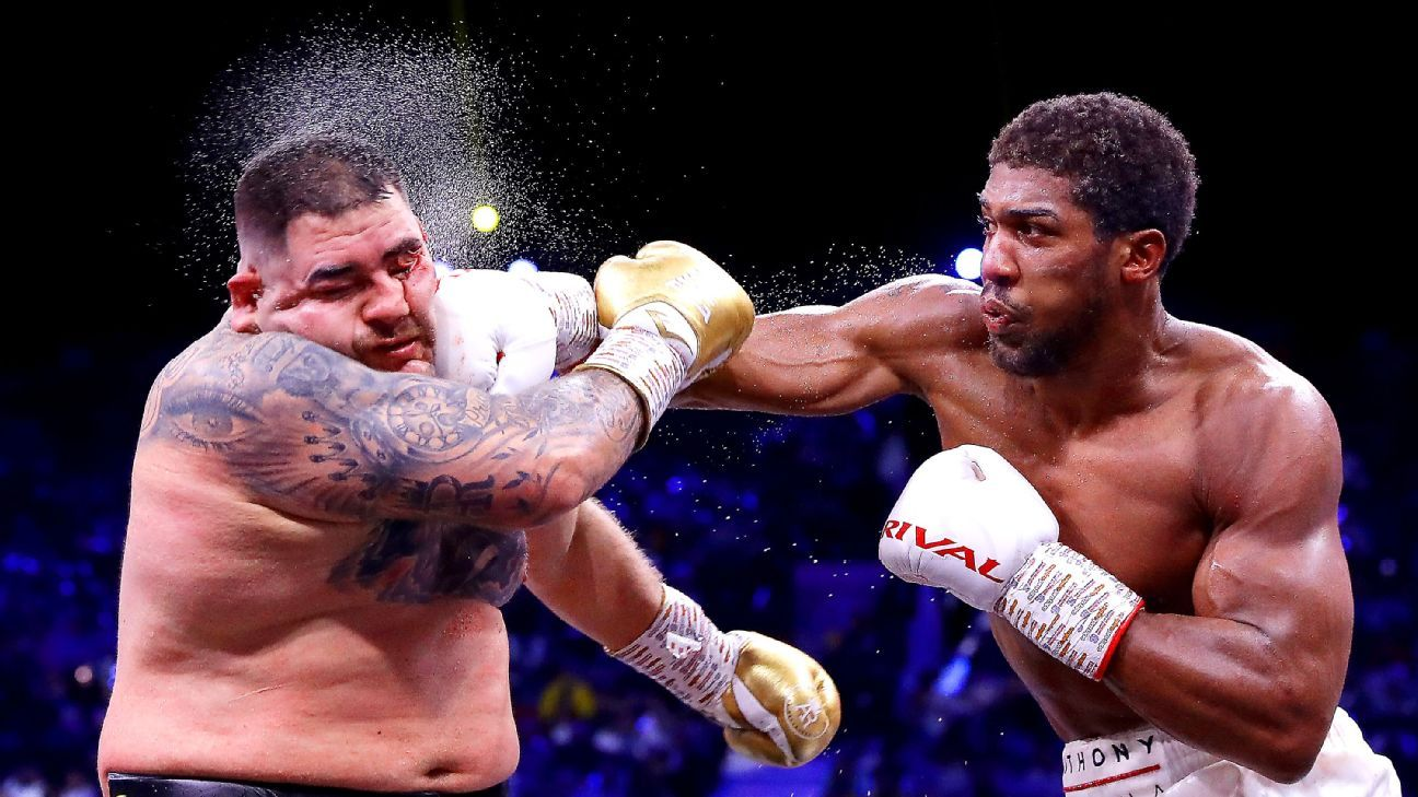 Anthony Joshua has competing mandatory defenses from WBO, IBF