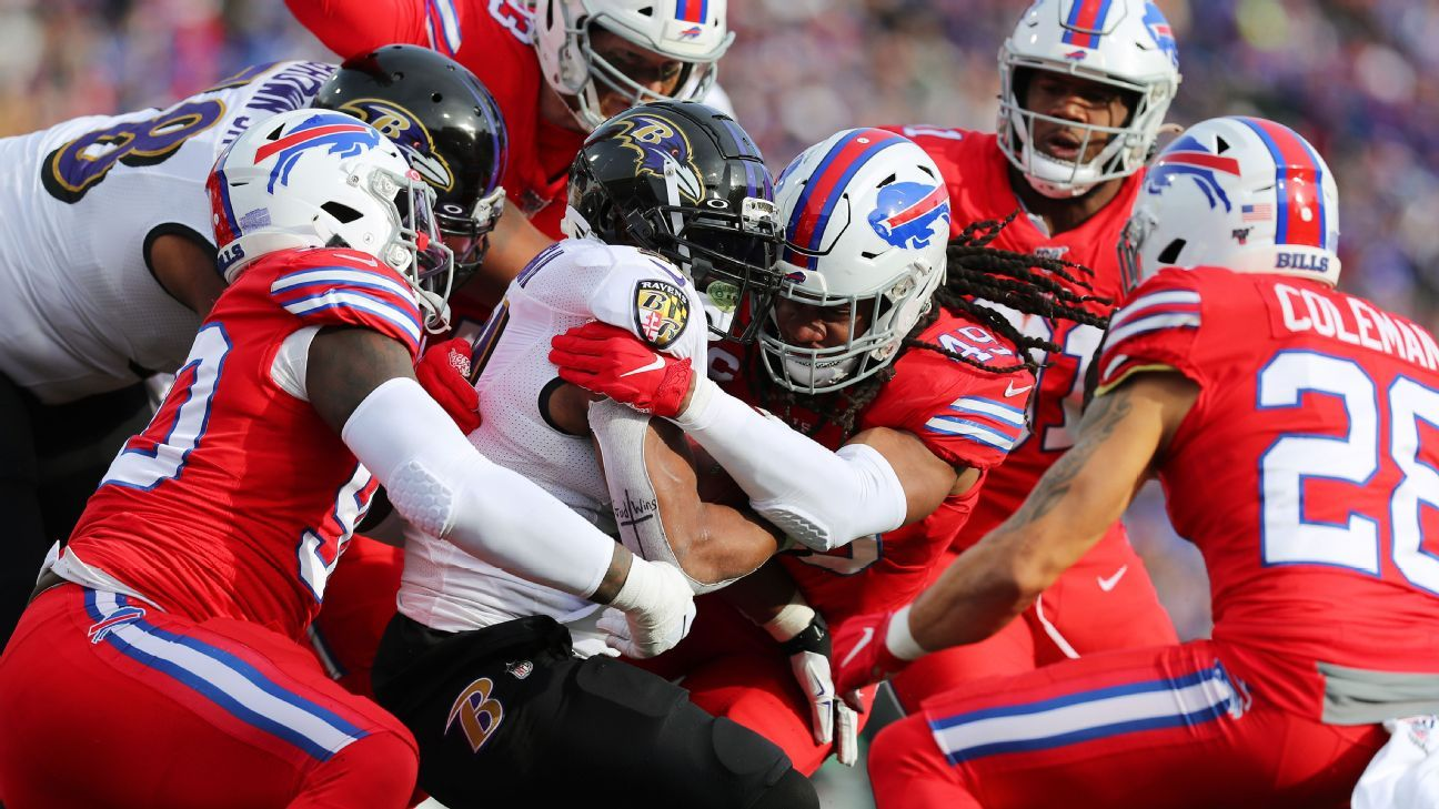 Bills player gets look at Ravens coach's notes