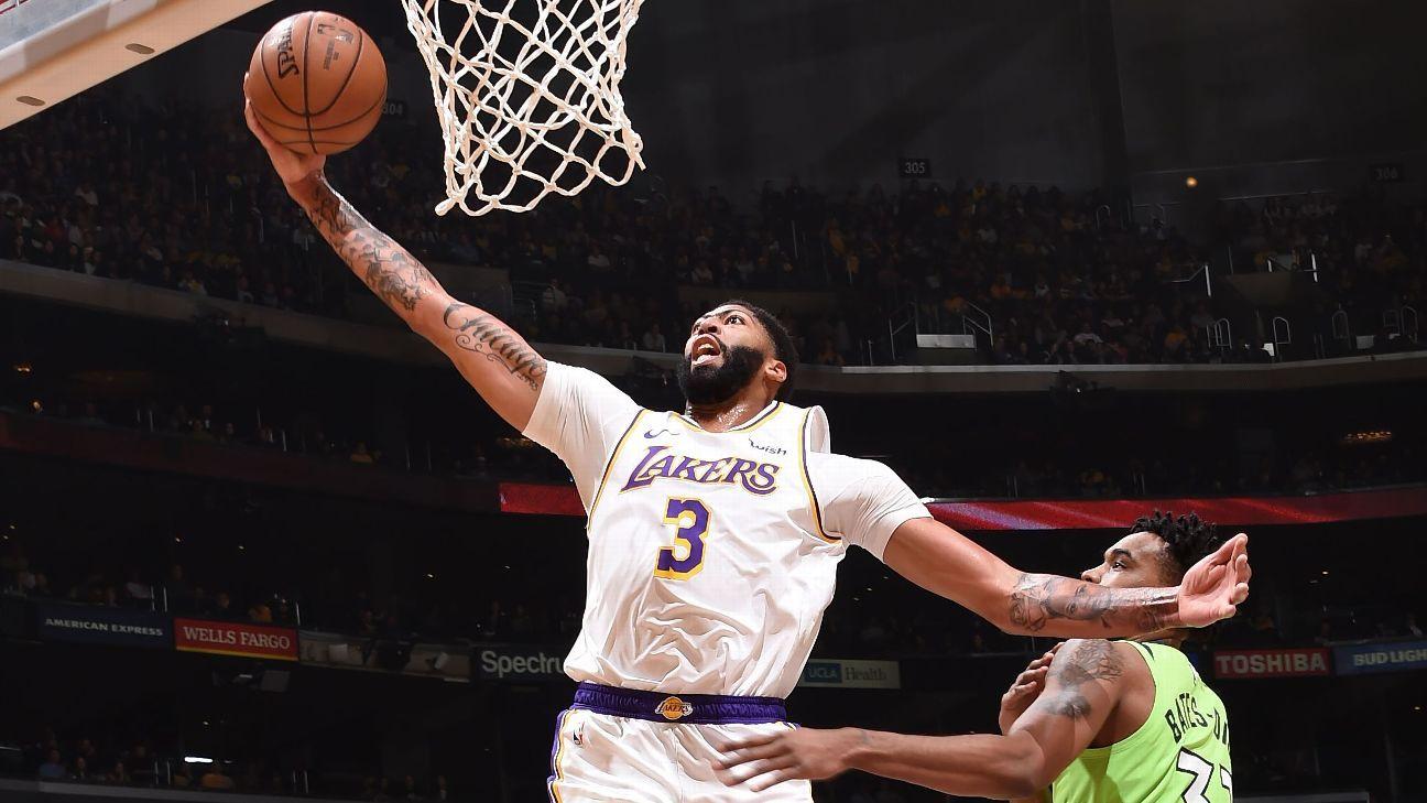 Anthony Davis says Lakers trio urged 50-point effort