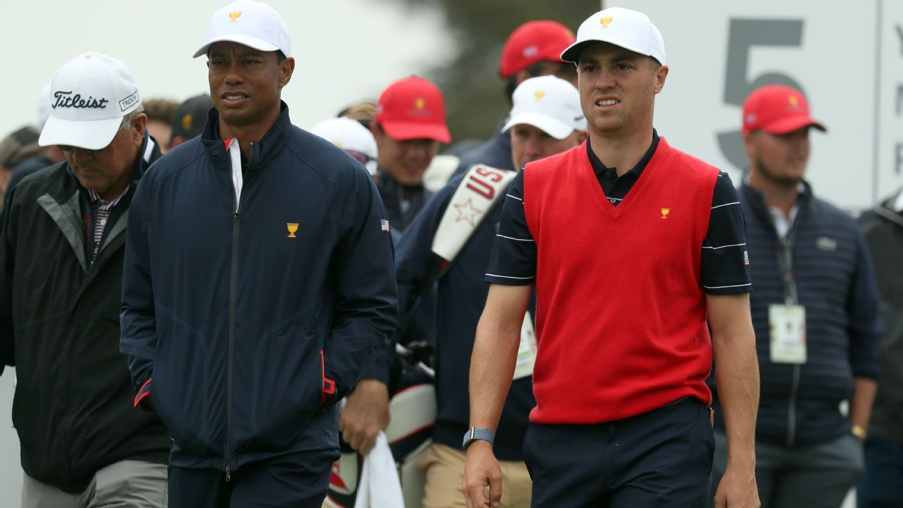 Opening pairing announced for Presidents Cup