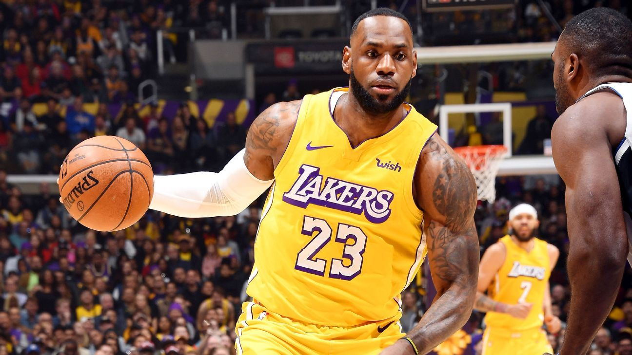 Lakers' LeBron James out vs. Thunder with flu-like symptoms