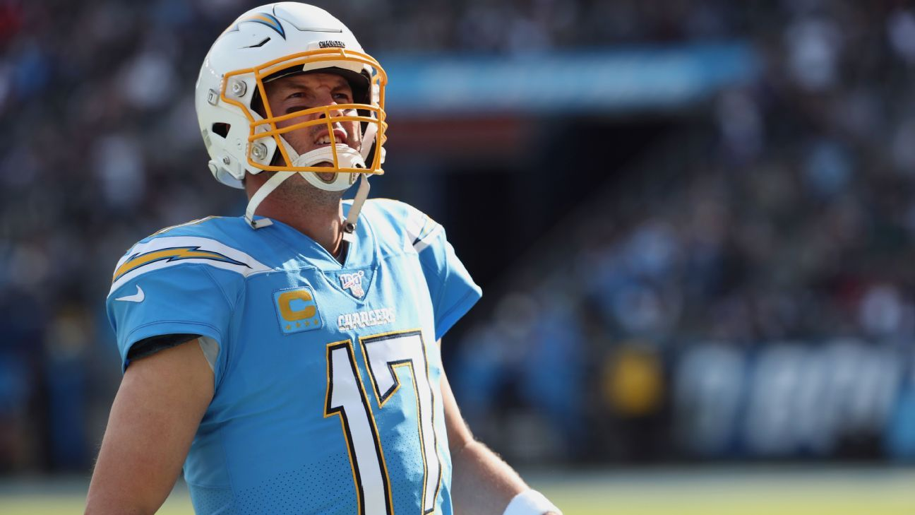 Passion and purpose: Chargers' Philip Rivers leans on mother's credo to finish 2019