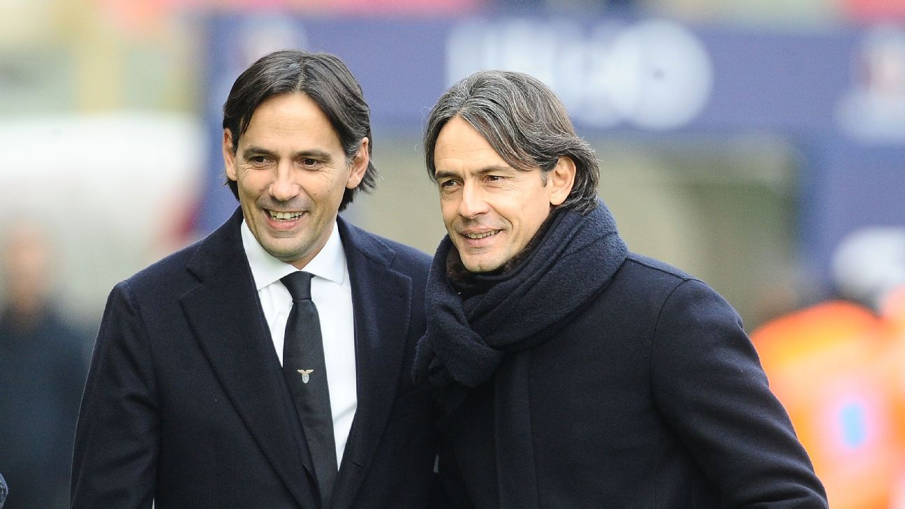 At Lazio and Benevento, the Inzaghi brothers are having a season to remember
