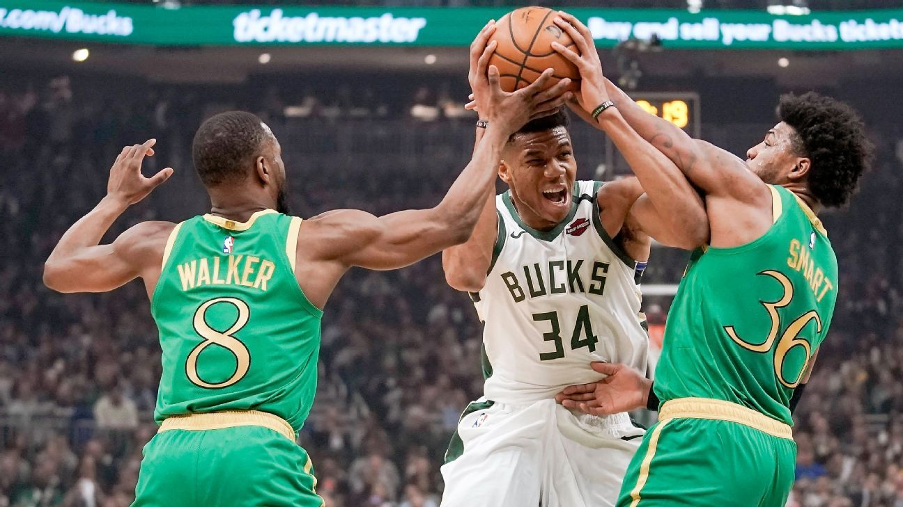 Giannis Antetokounmpo says he won't flop, vows to maintain physical approach