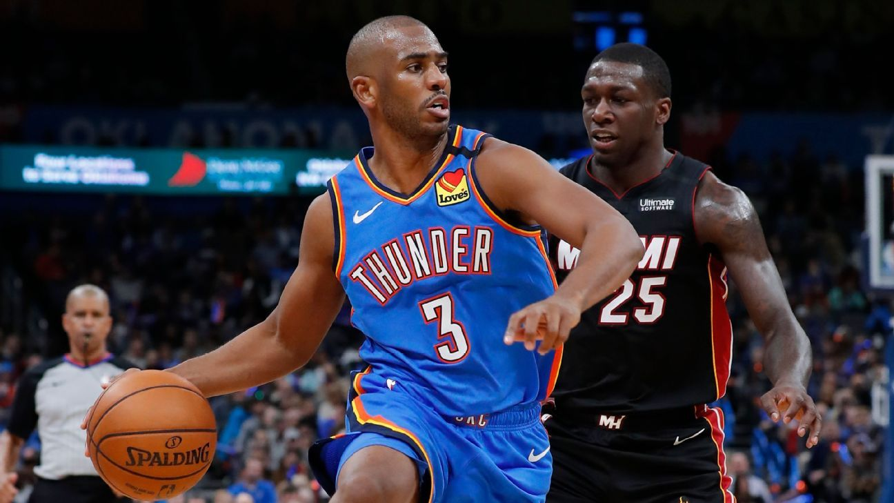 The Heat and Thunder are benefiting from CP3 staying put