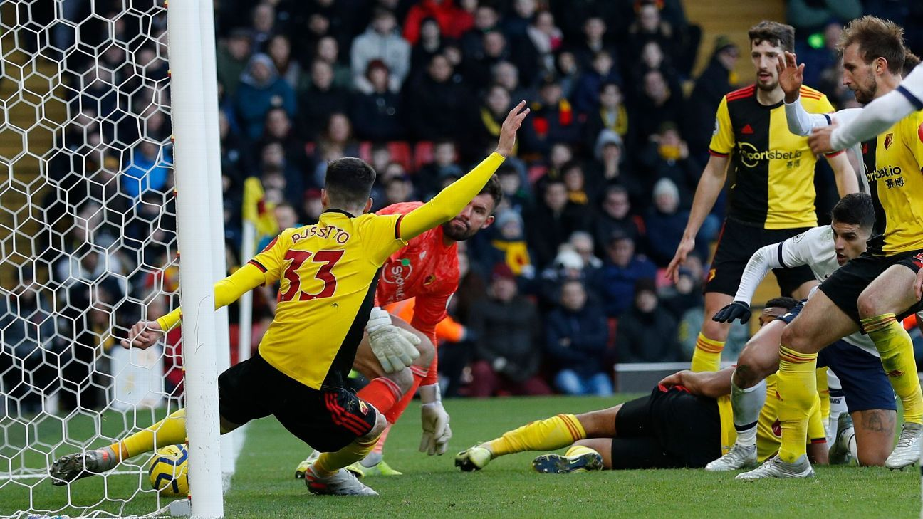Tottenham denied by Goal Decision System, not VAR, vs. Watford