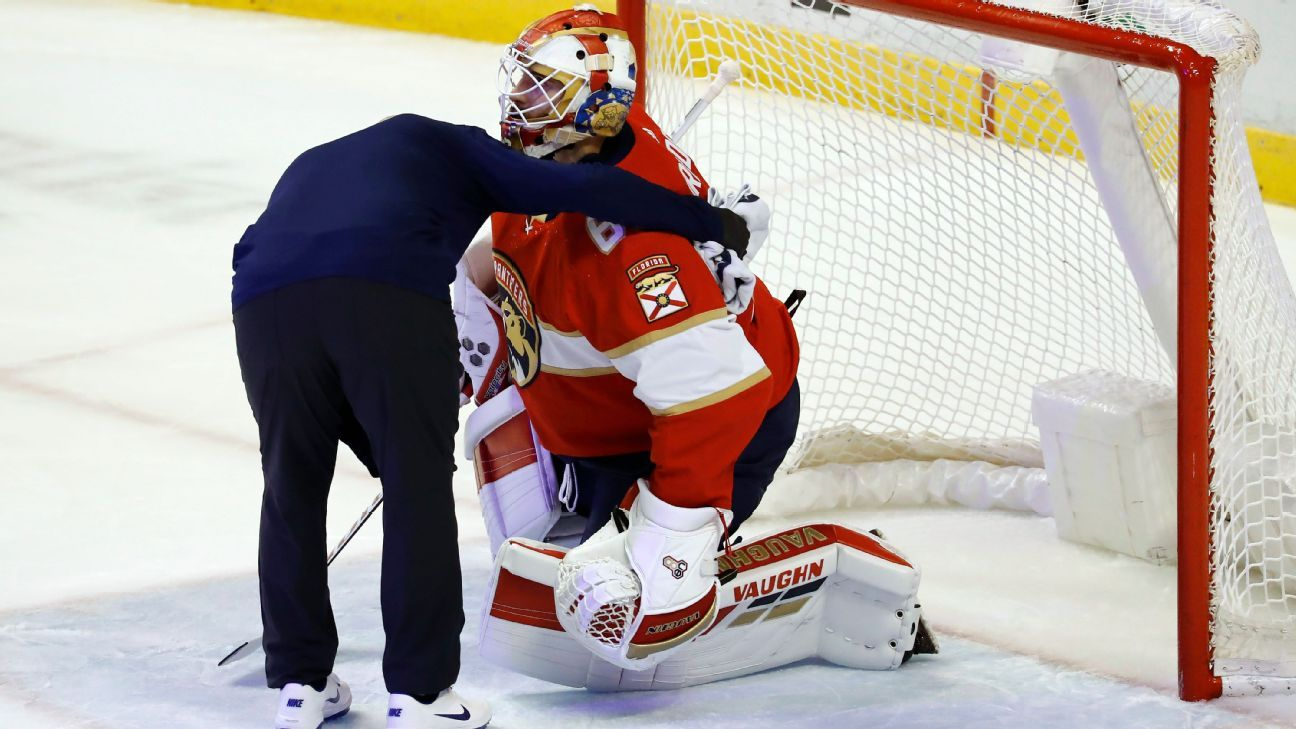 Panthers goalie Chris Driedger to miss several weeks