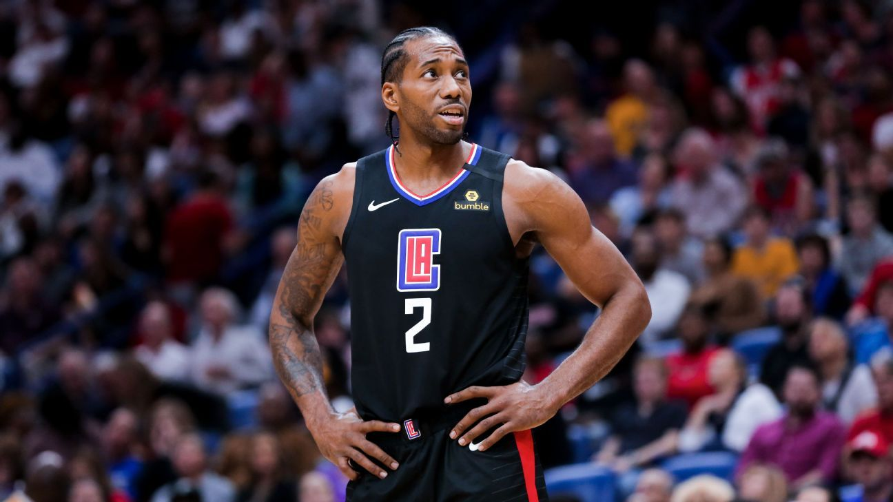 It's not all come together yet' for grieving Kawhi Leonard, as he ponders helicopter commuting