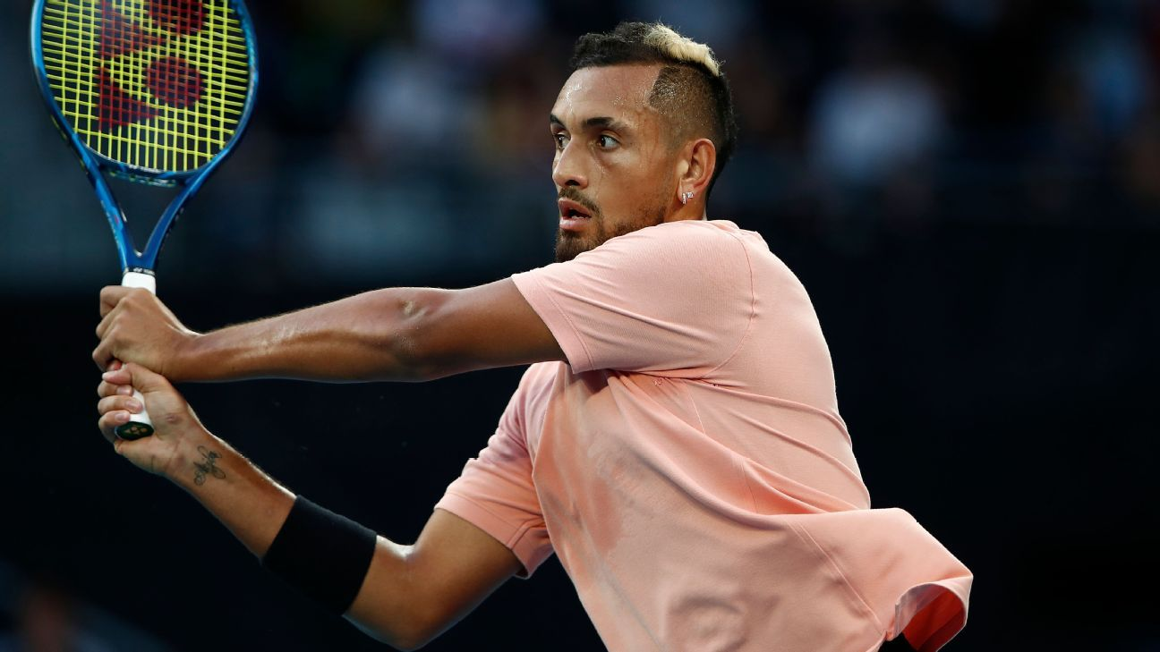 Injured top seed Kyrgios out of Delray Beach