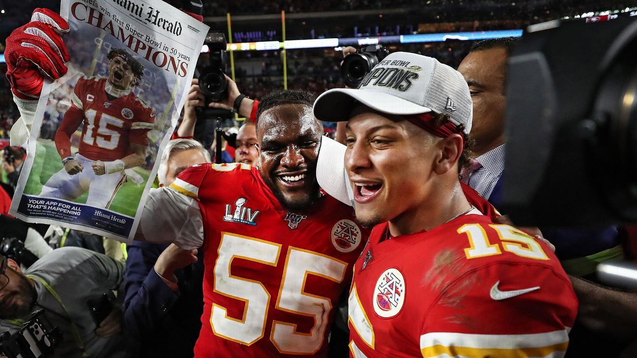 Patrick Mahomes sought security, flexibility for Chiefs in landmark deal - ESPN