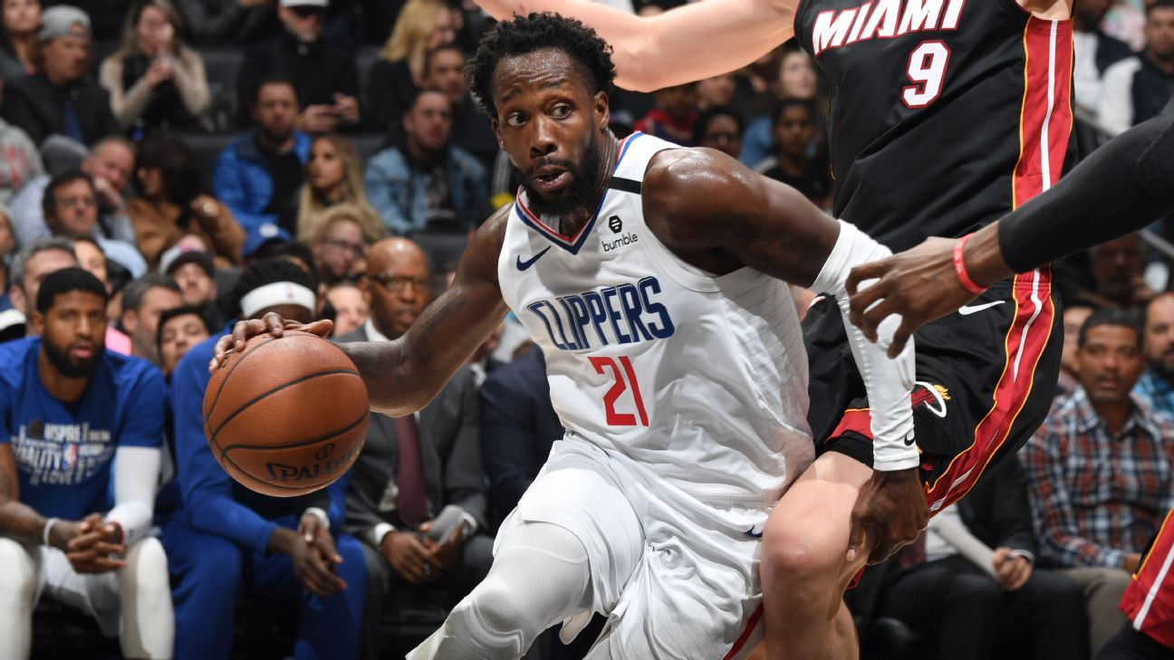 Patrick Beverley out for Clippers' Game 3 vs. Mavericks – ESPN