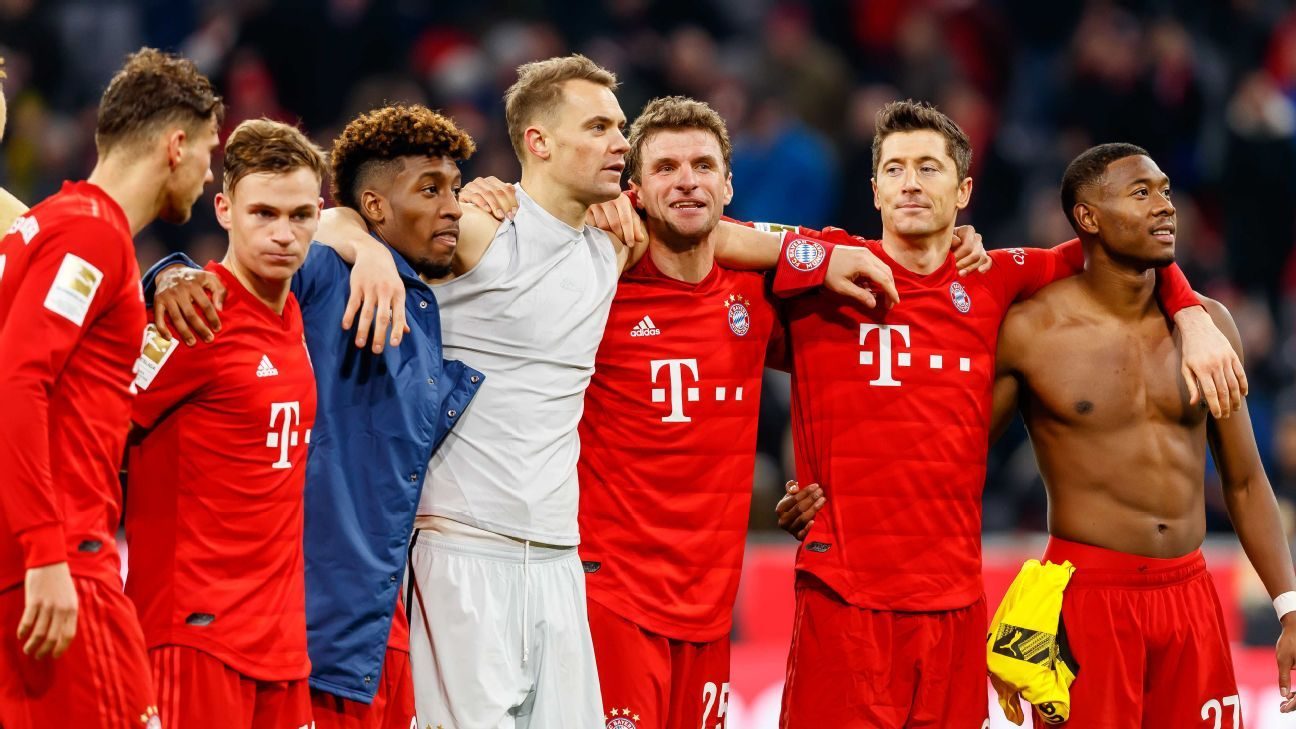 Bayern and Real Madrid show how big-club power keeps you on top