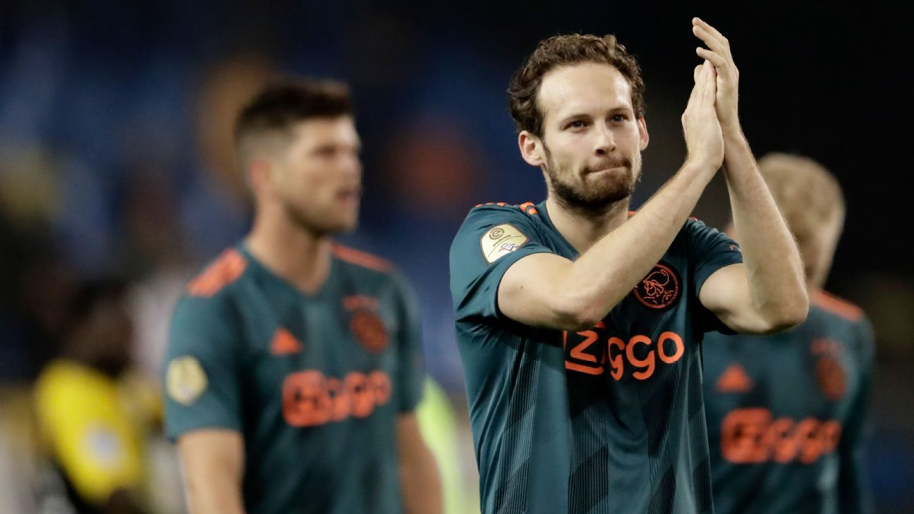 Ajax's Blind 'happy' to return after heart surgery