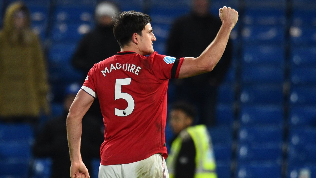 Maguire 9/10 as Man United grab vital win at Chelsea