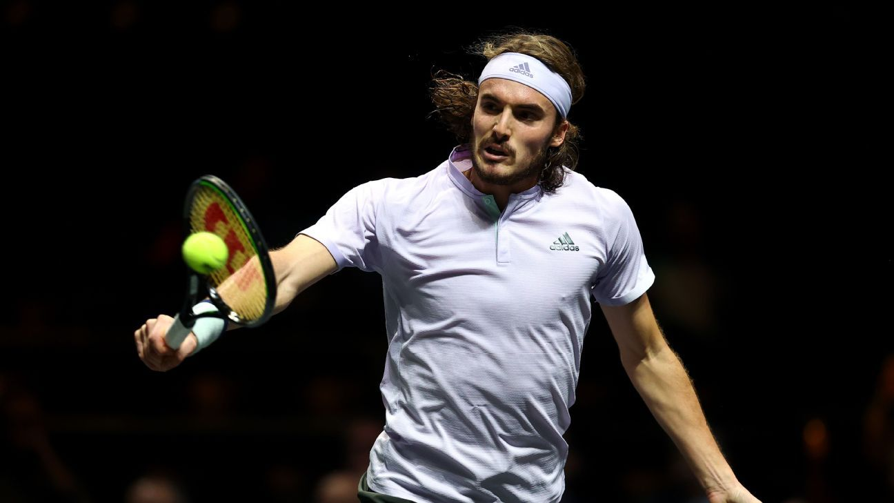 Tsitsipas cruises into Marseille quarterfinals