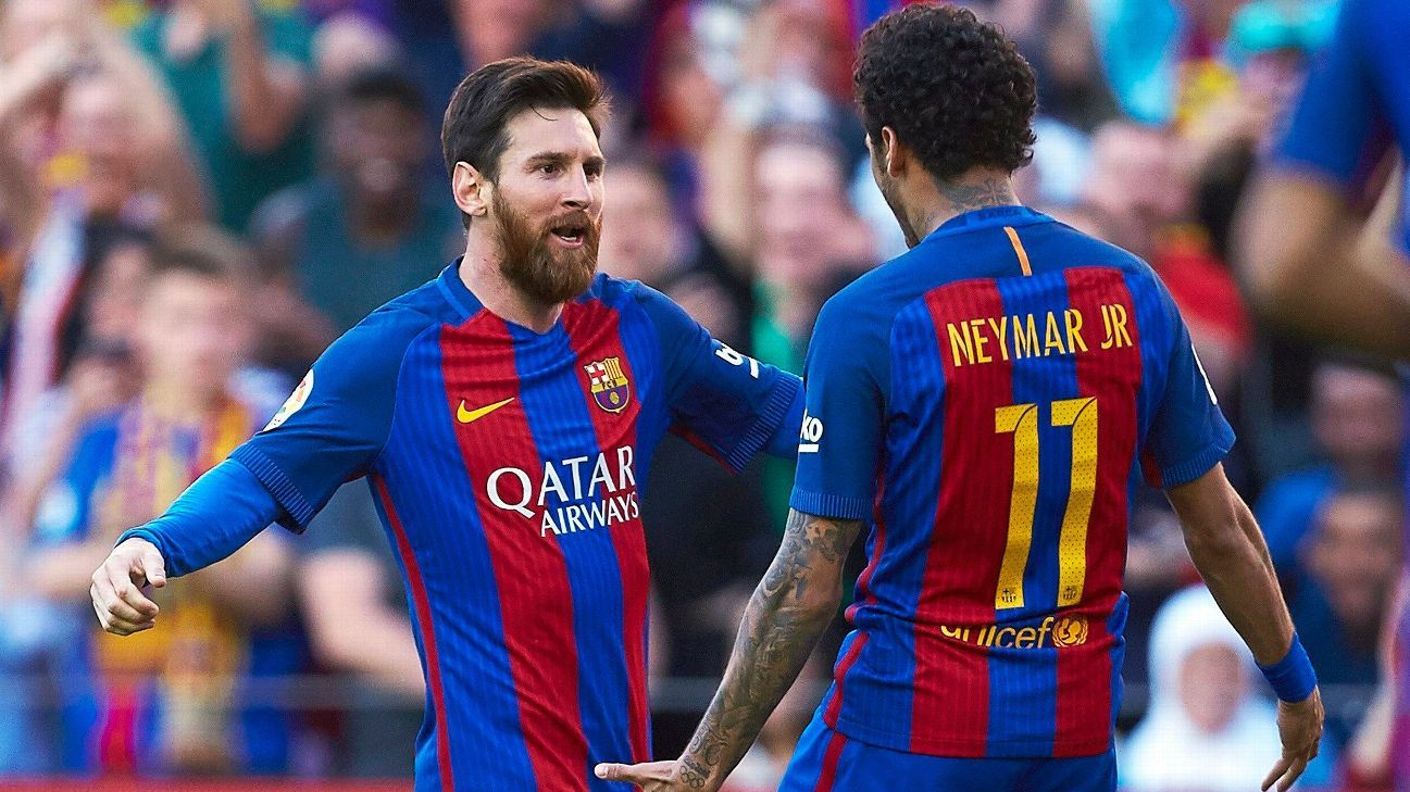 Lionel Messi - PSG's Neymar 'very excited' about returning to Barcelona - ESPN