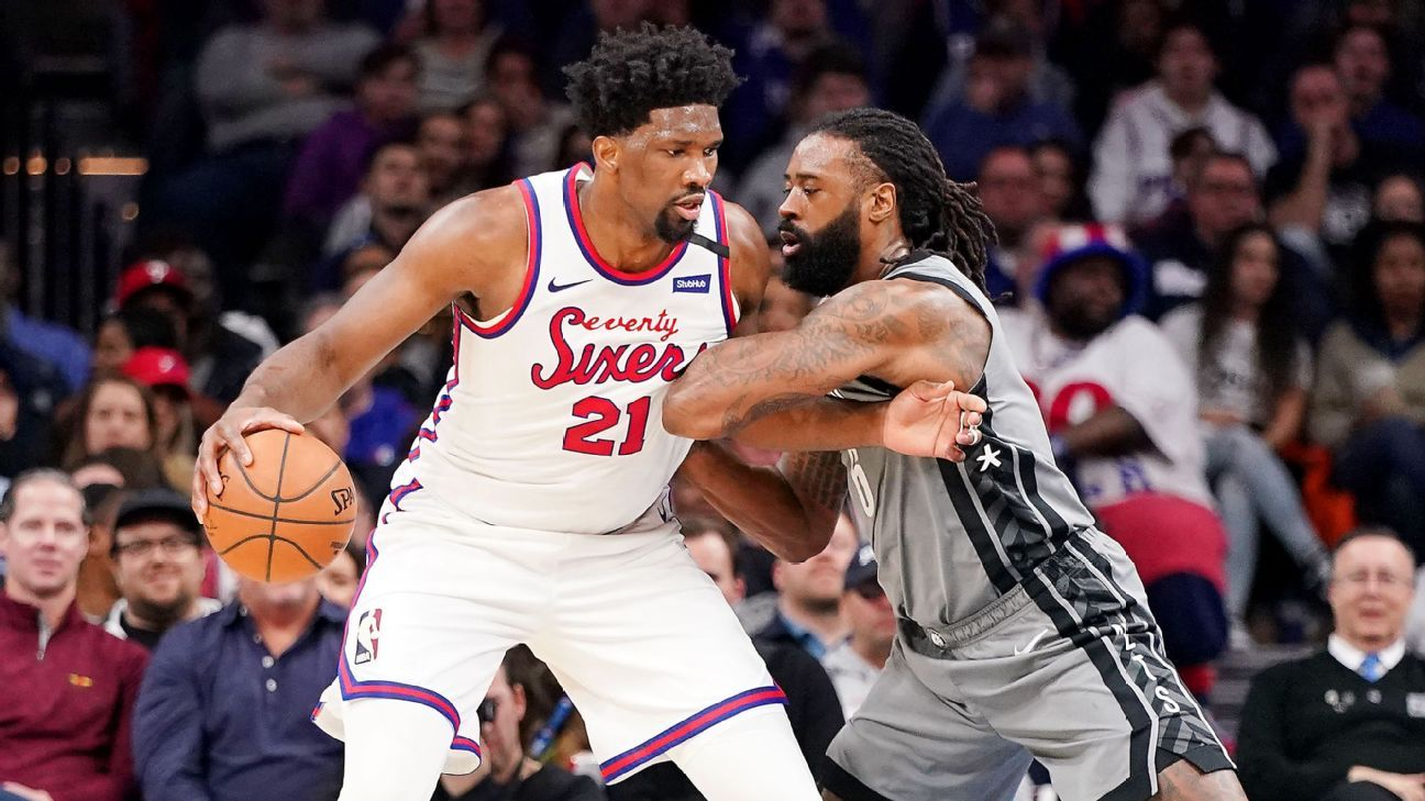 76ers' Embiid says he's 'best player in the world'