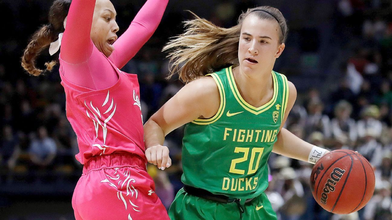 Steph Curry, daughters on hand for Sabrina Ionescu's 25th triple-double