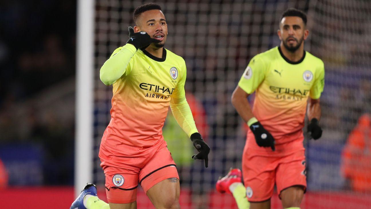 Leicester City vs. Manchester City - Football Match Report - February 22, 2020 - ESPN