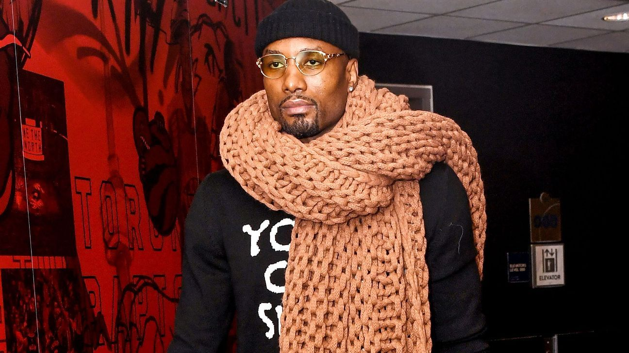 The origin of the Serge Ibaka scarf - 'Think of your grandmother knitting at the couch'