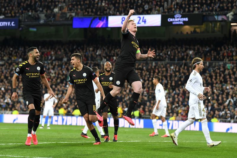 Real Madrid Vs Manchester City Football Match Report